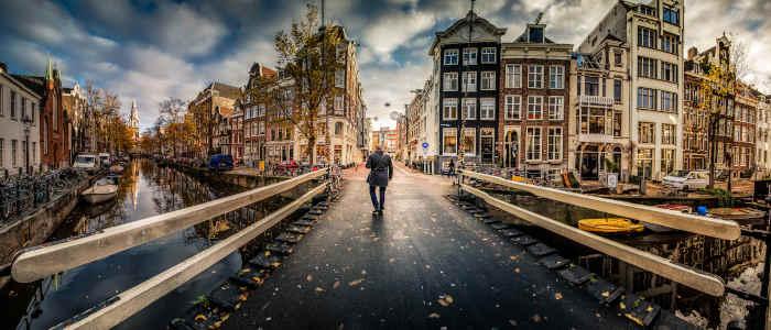 Person in Amsterdam