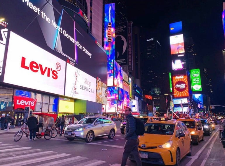 Street in Times Square
