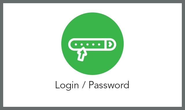 Login password FAQ tile