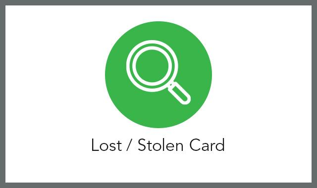 Lost or Stolen FAQ tile